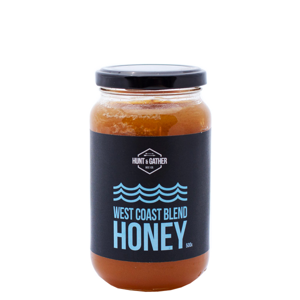 HUNT & GATHER BEE CO WEST COAST BLEND LOCAL HONEY