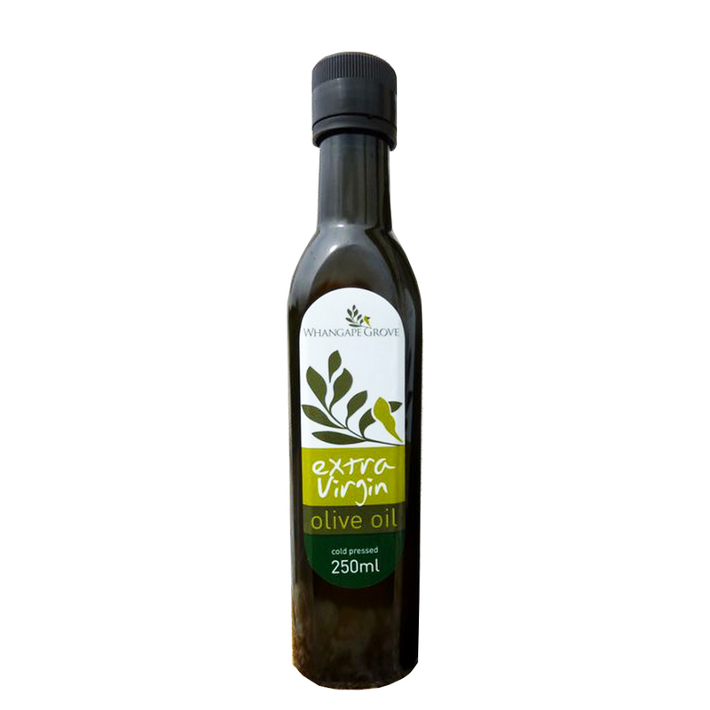 WHANGAPE GROVE EXTRA VIRGIN OLIVE OIL TUSCAN BLEND 250ML