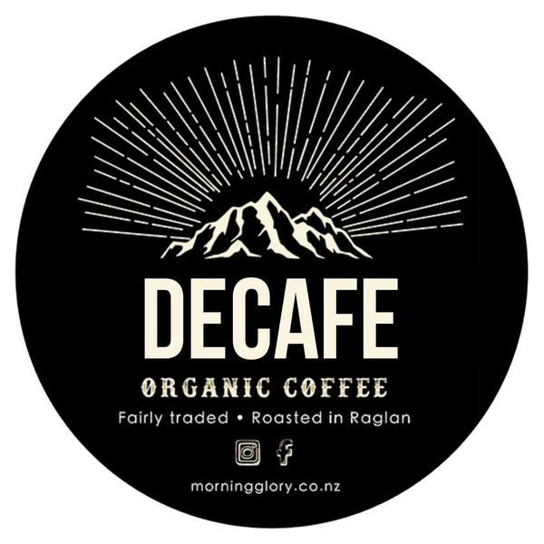 MORNING GLORY ORGANIC DECAFE COFFEE BLEND