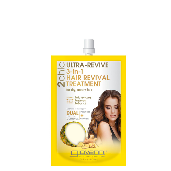 GIOVANNI 2CHIC® ULTRA-REVIVE 3-in-1 HAIR REVIVAL TREATMENT 51.75ML