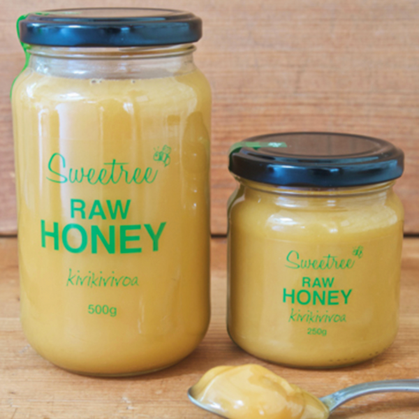 SWEETREE RAW KIRIKIRIROA HONEY