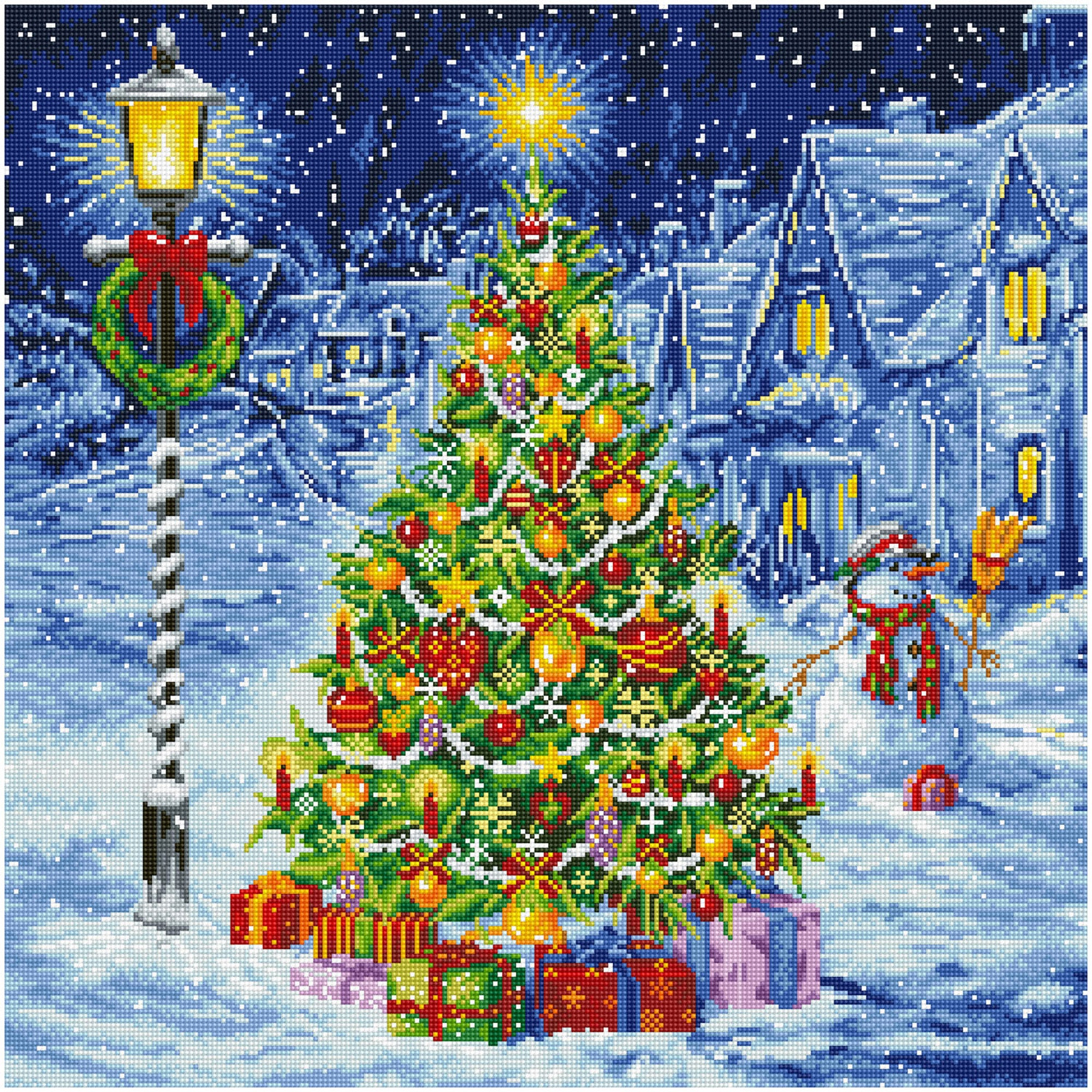 Diamond Painting Kerst