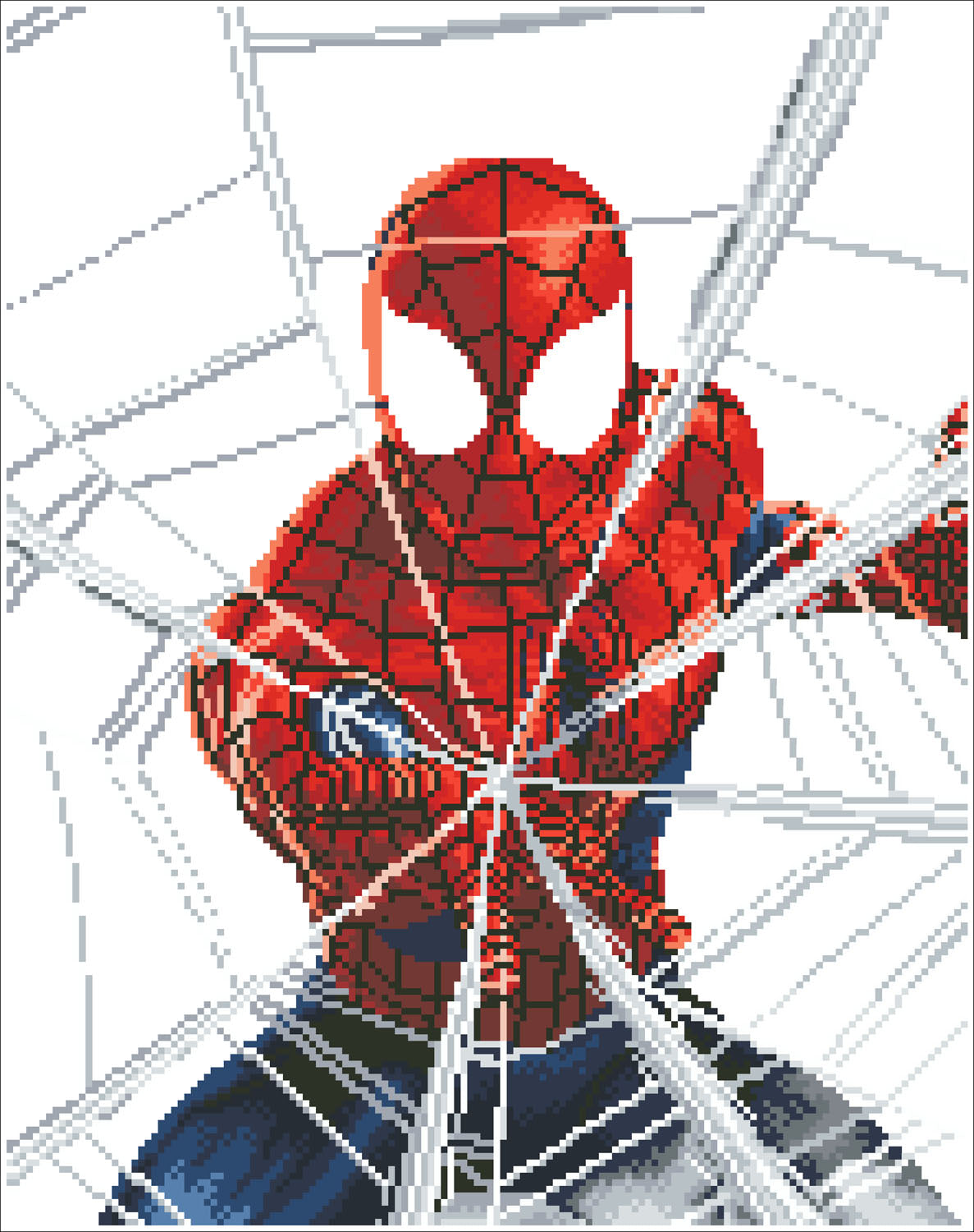 Spiderman diamond painting