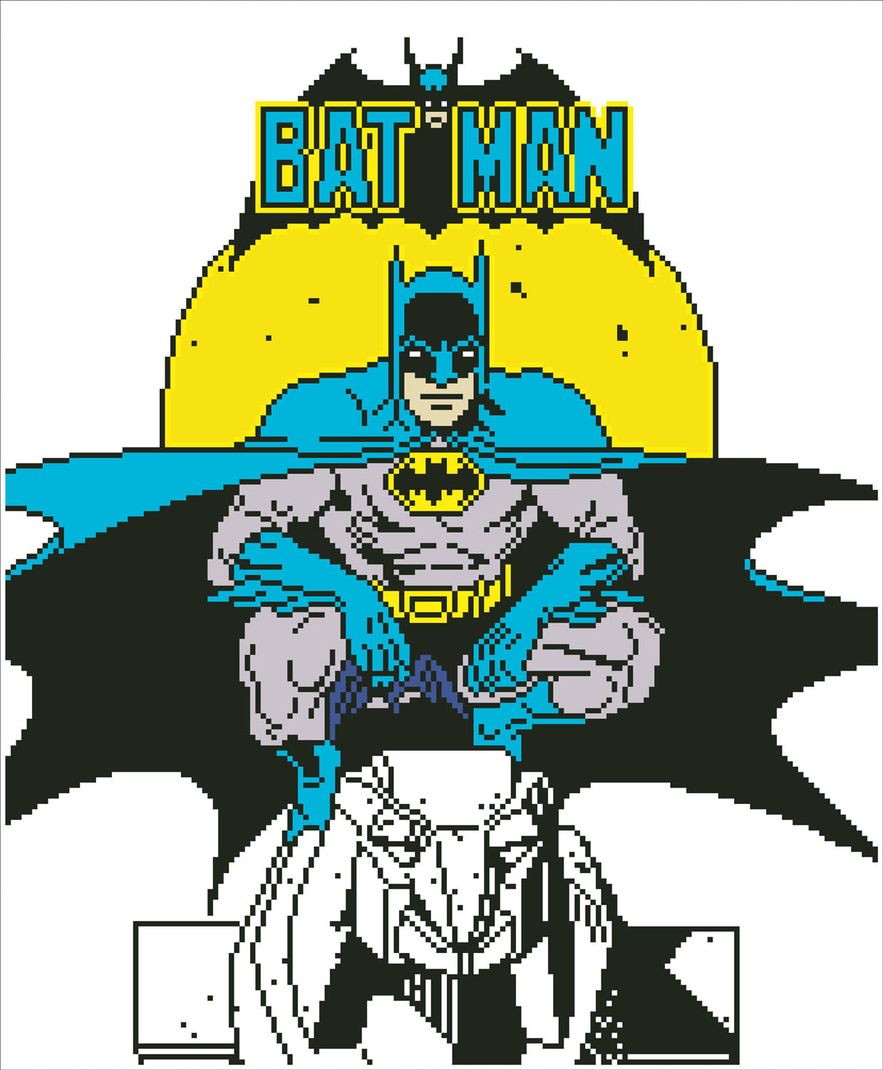 Batman diamond painting