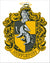 Hufflepuff wapen diamond painting