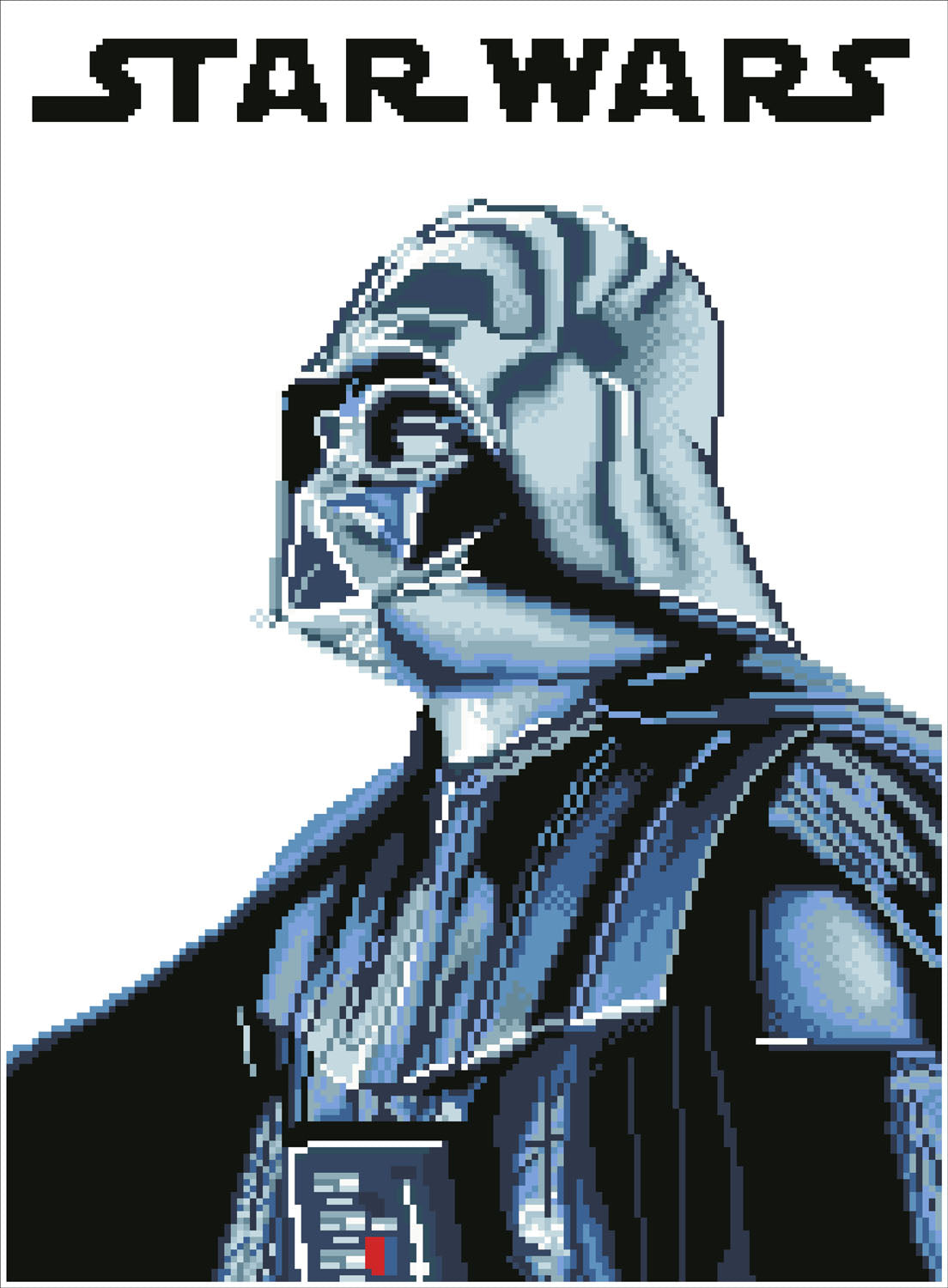 Darth vader diamond painting