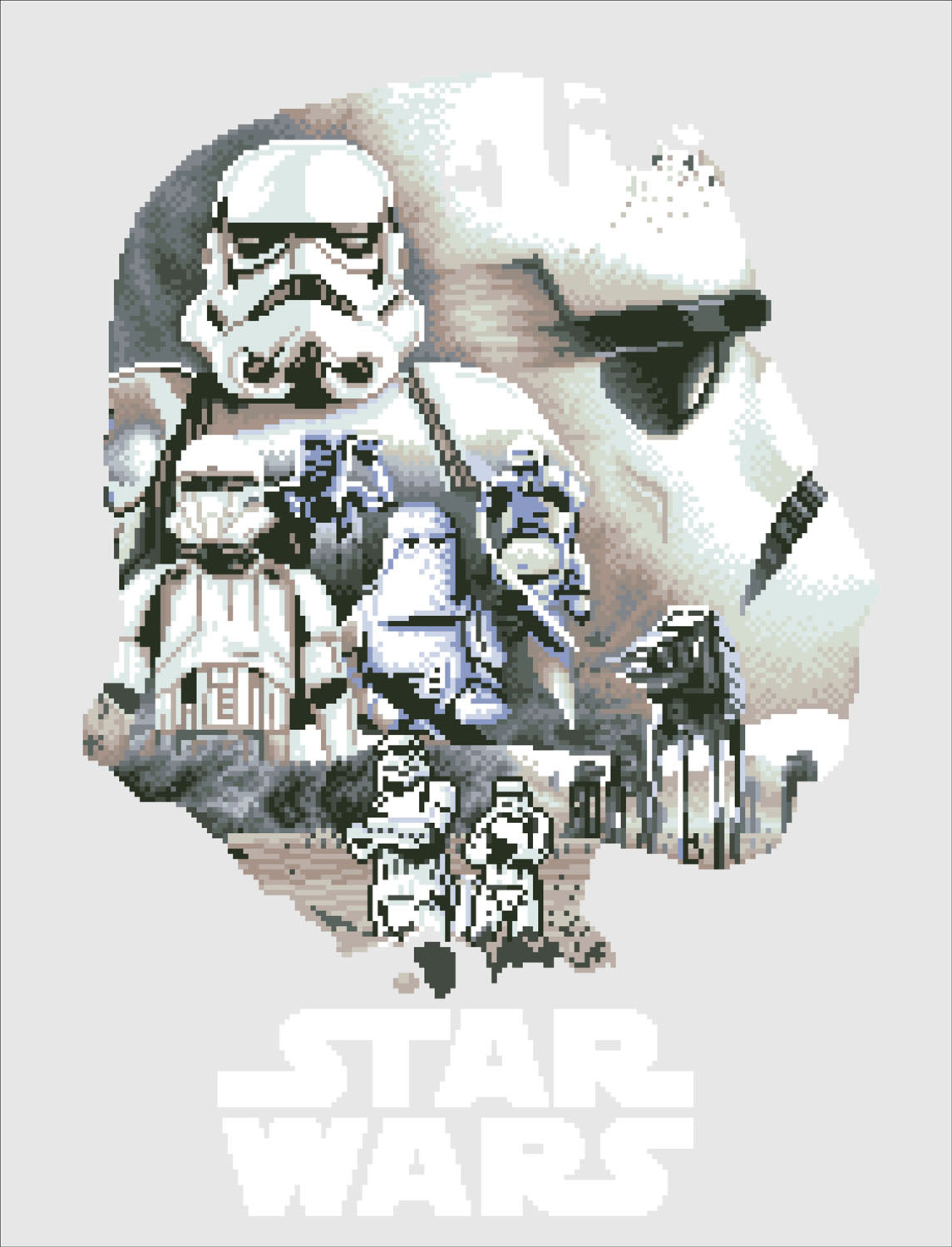 Stormtrooper diamond painting