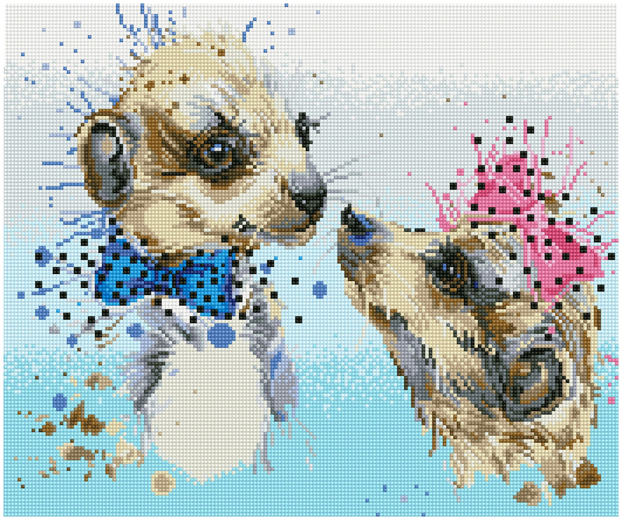 Meerkat liefde diamond painting