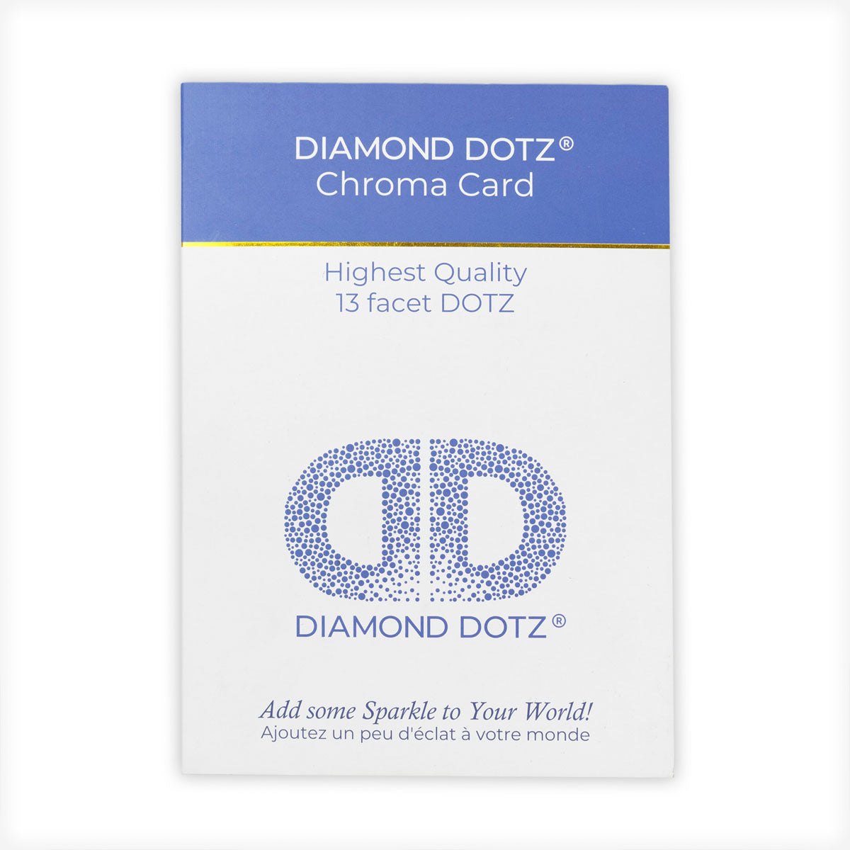 Diamond dotz chroma card lege kaart dot yourself diamond painting