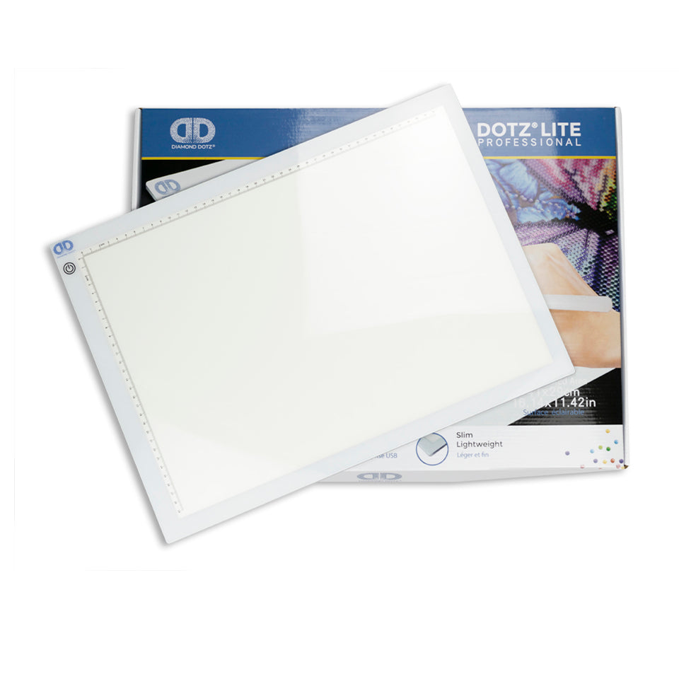 Lichtbord / led bord professioneel a3 formaat diamond painting
