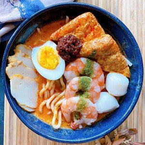 LAKSA IN A BOWL BY UNIQLAY.CERAMIC
