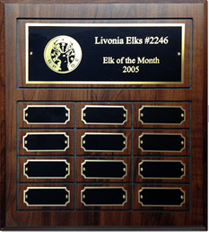 12-month Perpetual Plaque