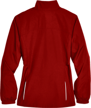Load image into Gallery viewer, Custom Elks Core 365 Ladies Motivate Unlined lightweight full zip jacked in red Back