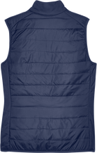Load image into Gallery viewer, Custom Elks Core 365 Ladies Prevail Packable Puffer Vest Back View in Navy