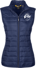 Load image into Gallery viewer, Core 365 Custom Elks Ladies Prevail Packable Puffer Vest Front in Navy