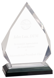 Diamond Impress Acrylic Award
