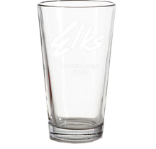 Load image into Gallery viewer, 16 oz. Etched Pint Glass - Set of 4