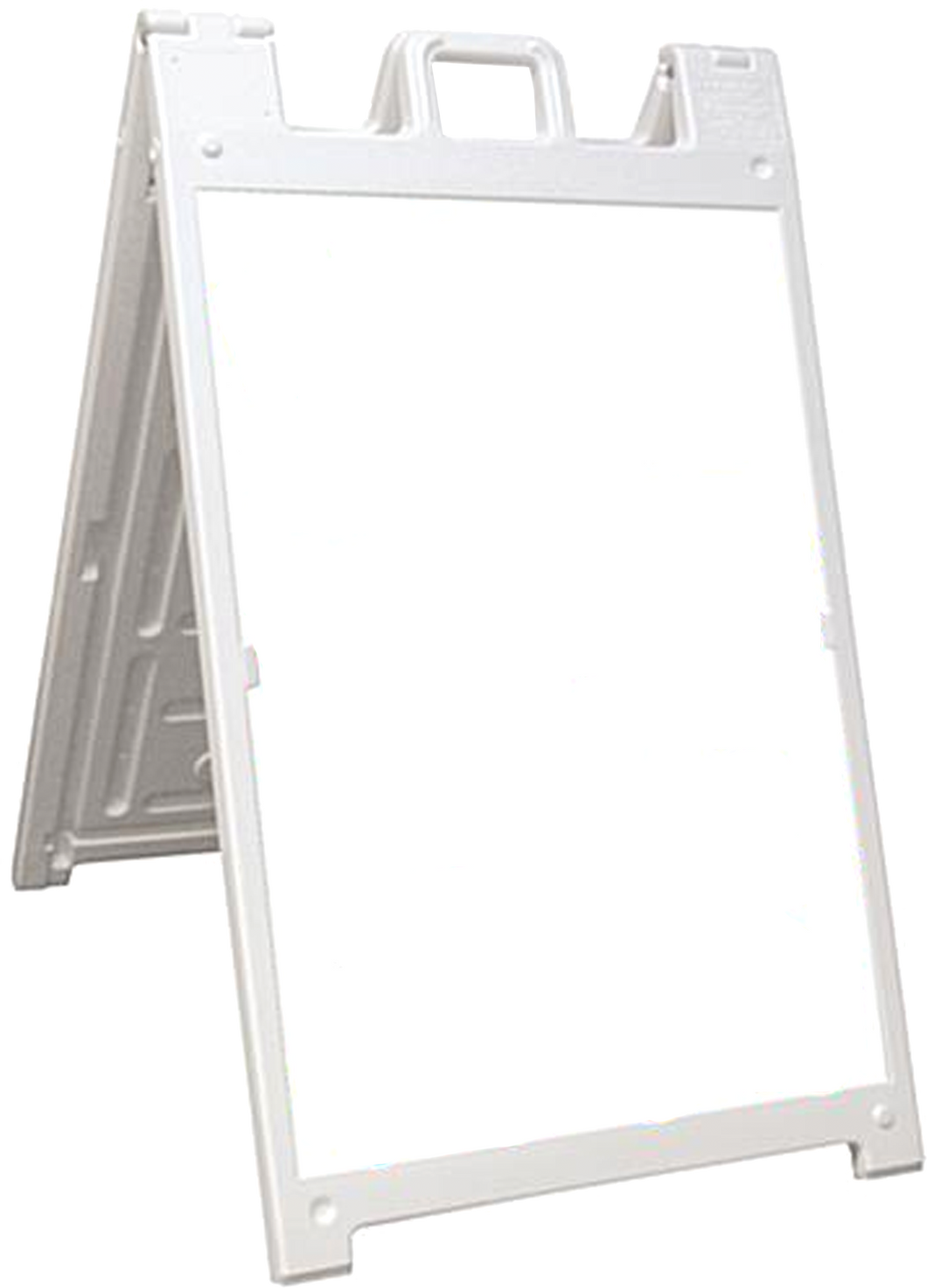 Two-Sided Sandwich Board Sign with Removable panels.