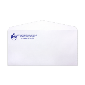 One Color Envelope
