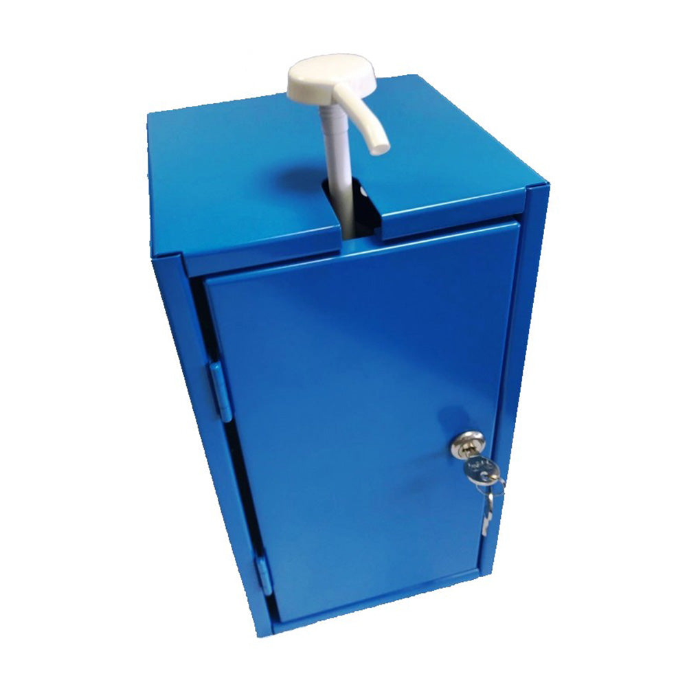 Lockable Sanitiser Cabinet 5 Litre