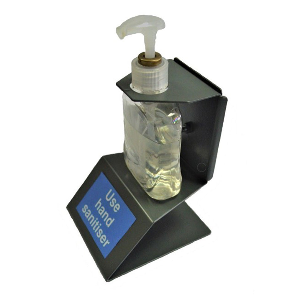 Counter / Reception Desk Sanitiser Holders