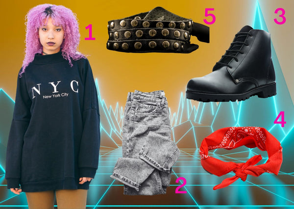 80s outfit costume ideas