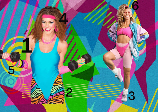 80s party Jazzercise costume