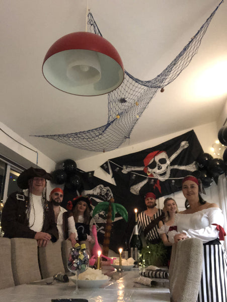 pirate themed murder mystery party
