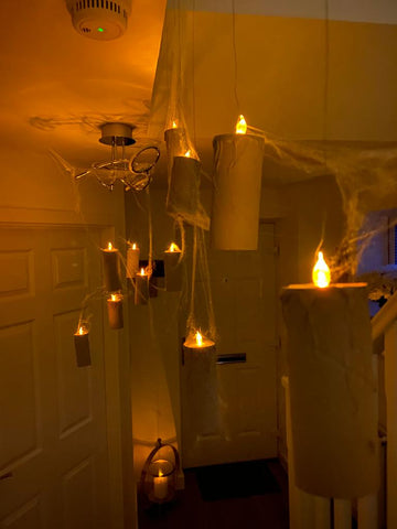 Wizarding murder mystery party decorations