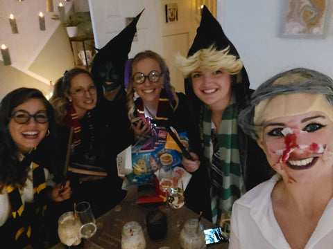 playing the harry potter murder mystery game