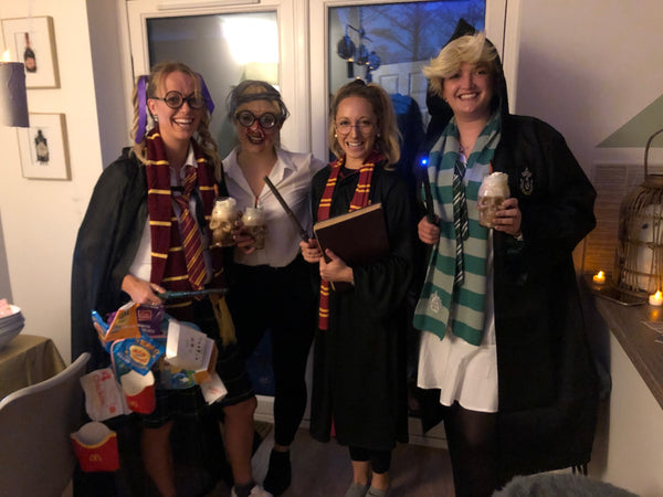 wizard themed murder mystery party