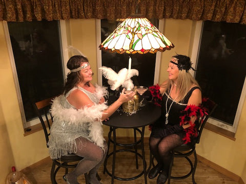 1920s themed murder mystery party