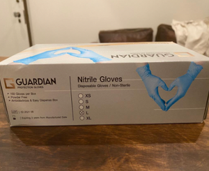 22,000 Boxes of Nitrile Glove Guardian - Medium