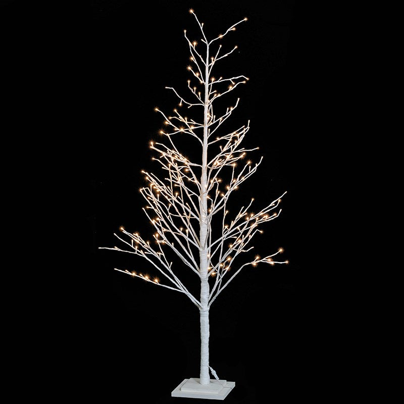 LED White Twig Christmas Tree,  H172cm - Susan Clark Interiors