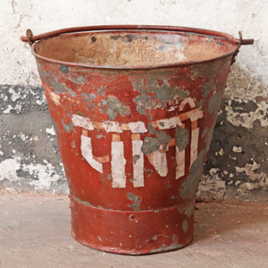 Indian Bucket - Susan Clark Interiors