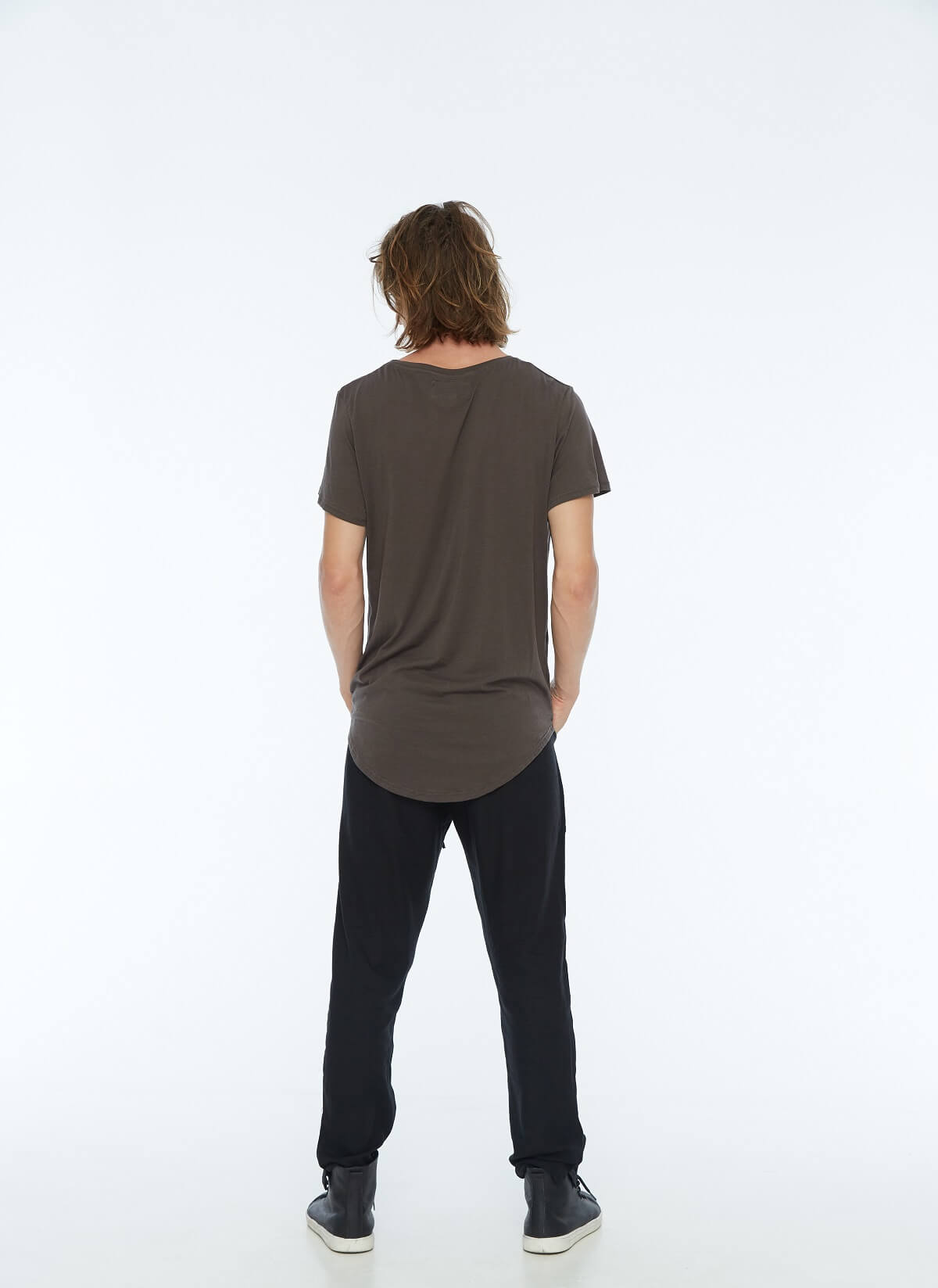 MENS LITE TEE BROWN