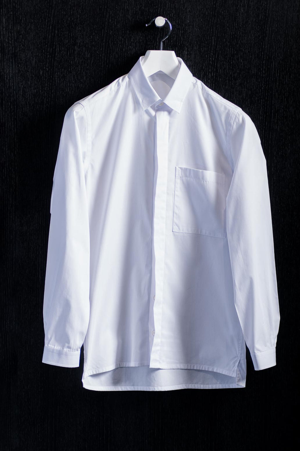 Pointed Button Under Collar Shirt