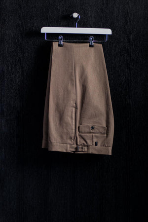 Khaki Cotton Drill Trousers