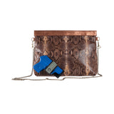 The Pepper Clutch-Brown Multi