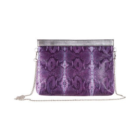 The Pepper Clutch-Purple Multi