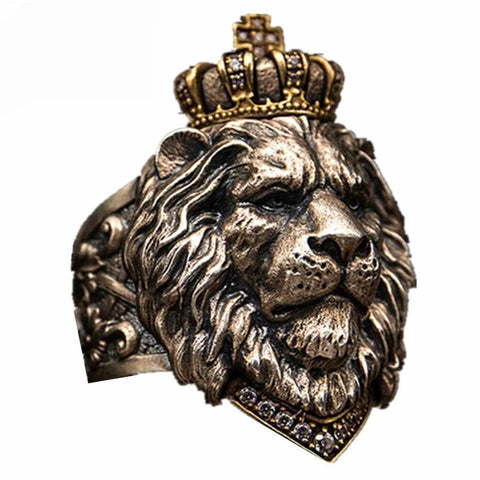 Lion King Ring Steel