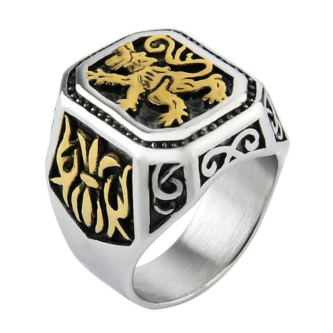 Lion Ring Imperial Sovereignty