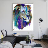 Lion Painting Drawing