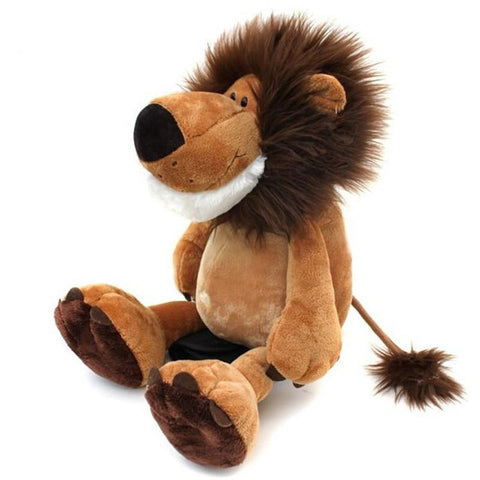 Lion Plush Brown with a Mane