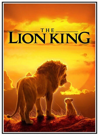 Lion Poster The Lion King - 1 / 30X21cm 11X8 inch