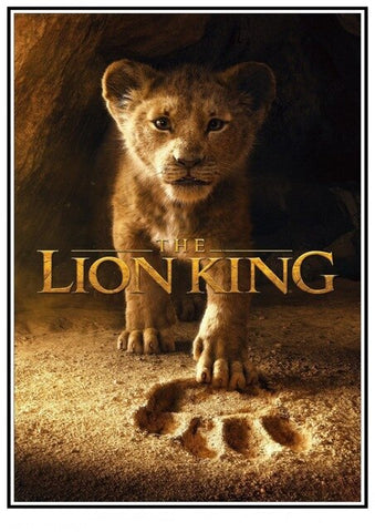 Lion Poster Simba The Lion King - 2 / 30X21cm 11X8 inch