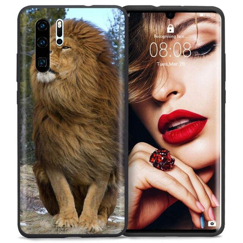Lion Huawei Case Greatness