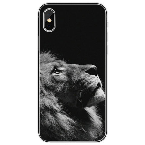 Lion iPhone Case Thinker