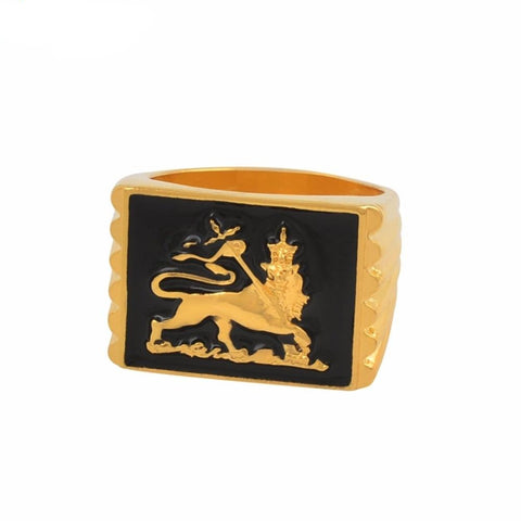 Goldent Lion Ring Celebration