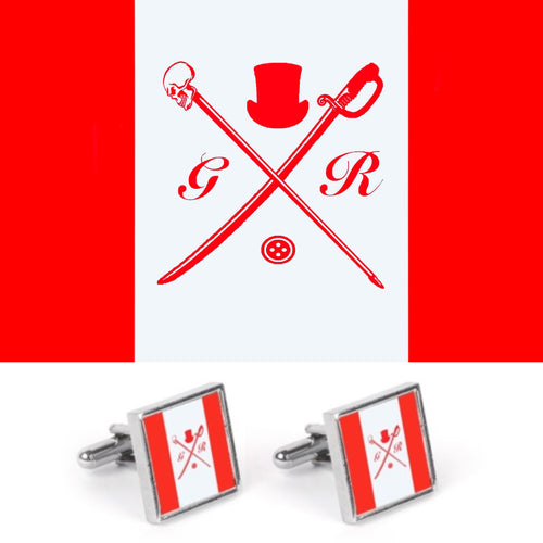 Canadian flag Gentleman Rogue cufflinks